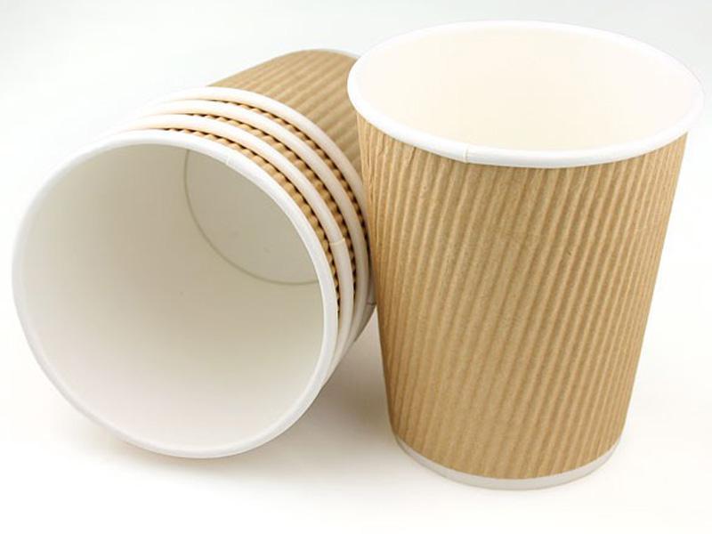 แก้วกาแฟ ripple wall 8oz - 2